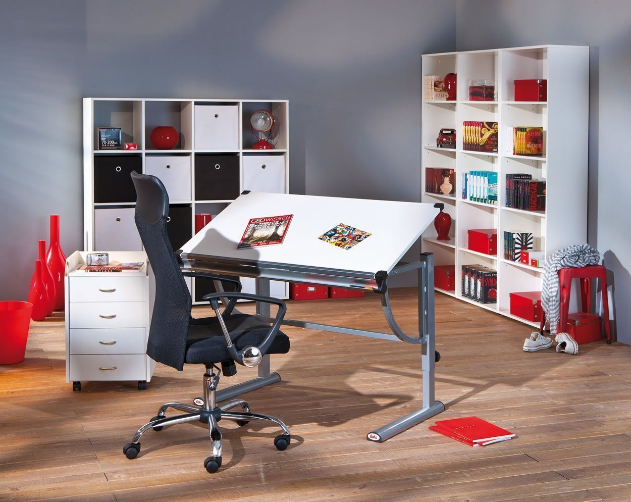 bureau espace de travail. Black Bedroom Furniture Sets. Home Design Ideas