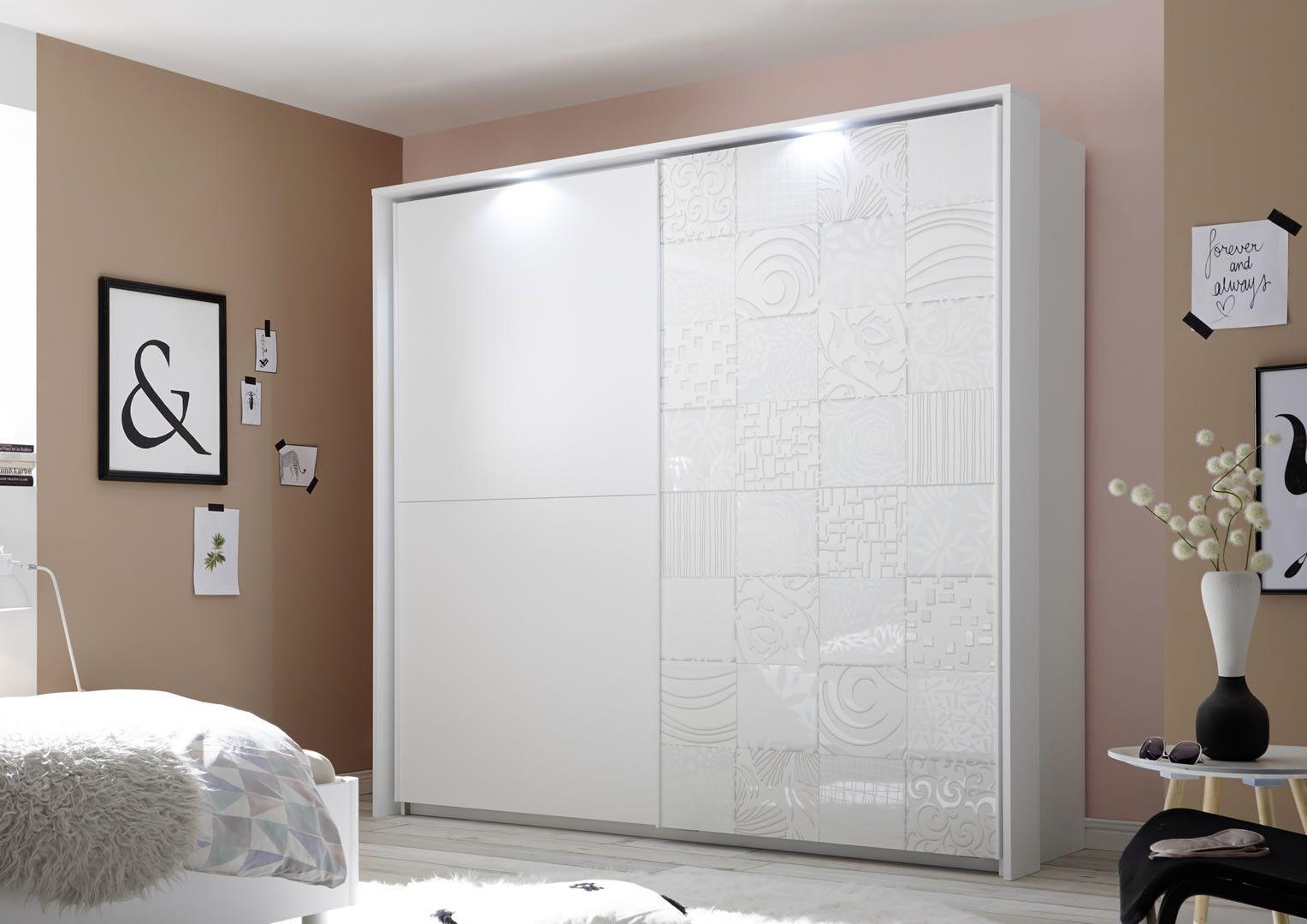 Armoires coulissantes - Armoire penderie design 2 portes ...