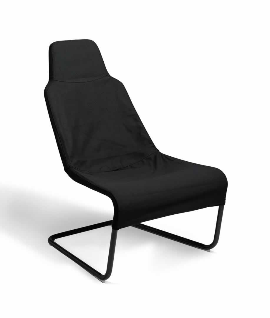 Chaise En Toile Noire Decize