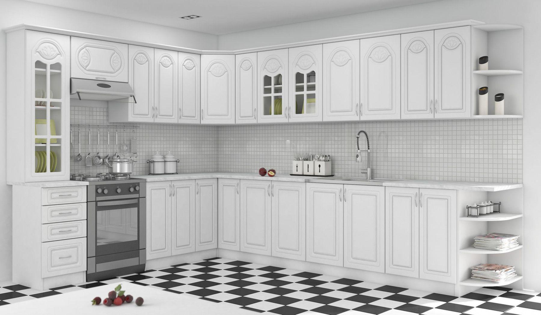 meuble bas de cuisine casserolier 3 tiroirs 60 cm blanc dieppe. Black Bedroom Furniture Sets. Home Design Ideas
