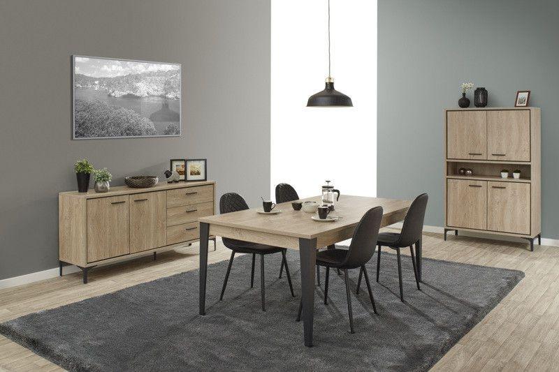 salle manger design salle manger style industriel ch ne canberra ciano trocity. Black Bedroom Furniture Sets. Home Design Ideas