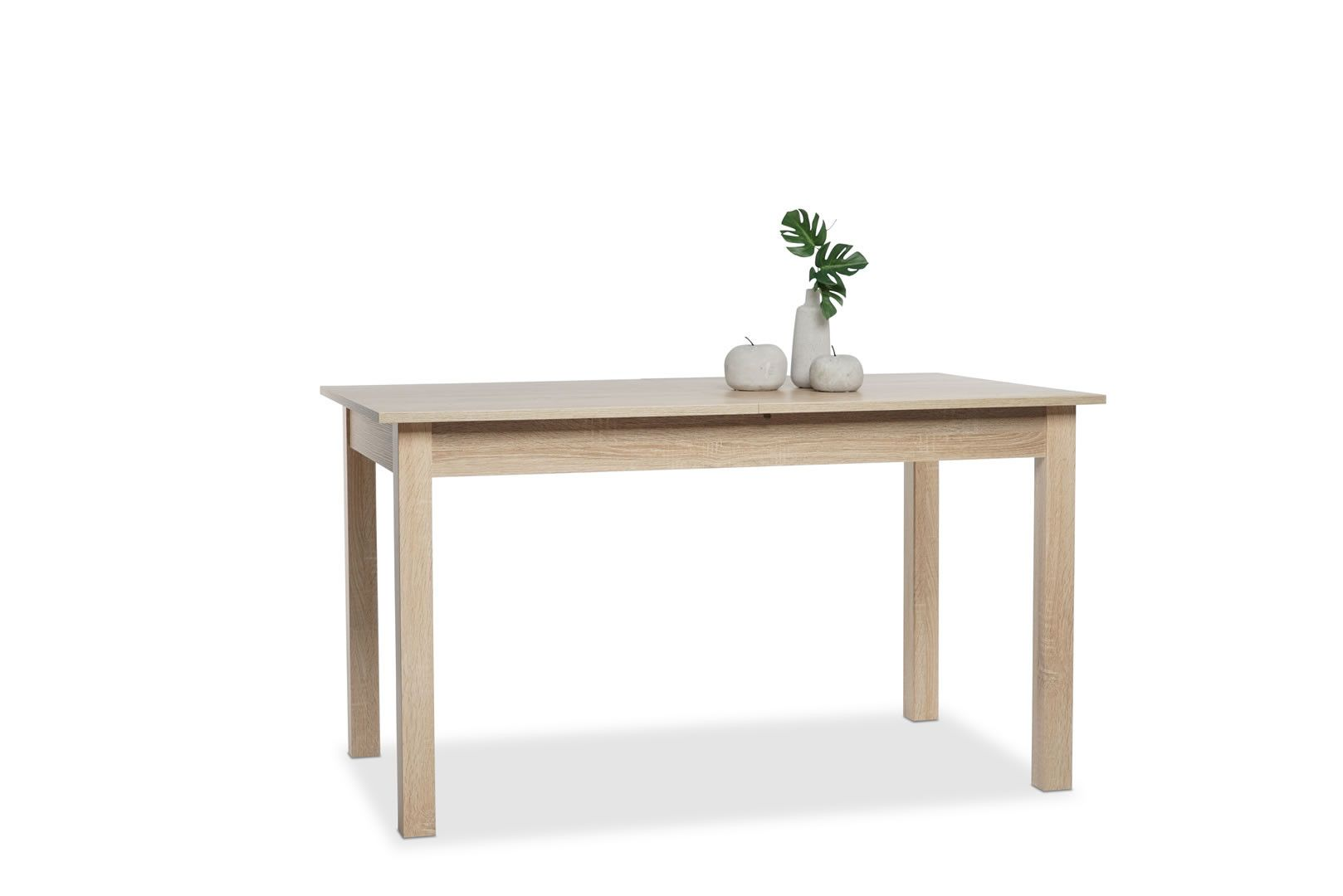 Table manger avec allonge 137 177 cm jiminy ch ne clair for Table a manger avec allonges