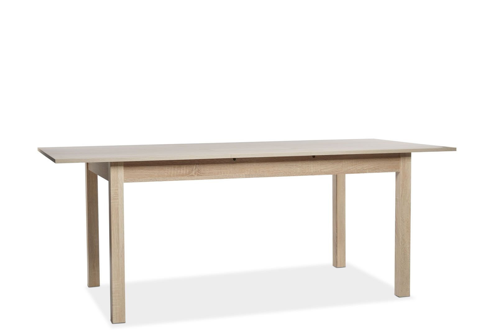 Table manger avec allonge 160 200 cm jiminy ch ne clair for Table a manger 160 cm avec rallonge