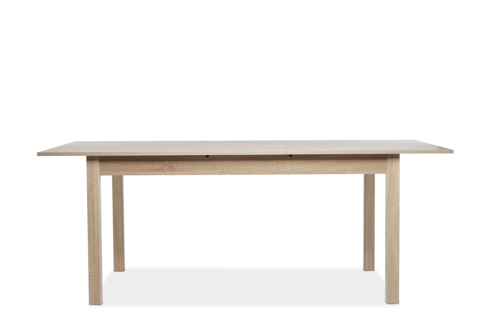 Table manger avec allonge 160 200 cm jiminy ch ne clair for Table a manger avec allonges