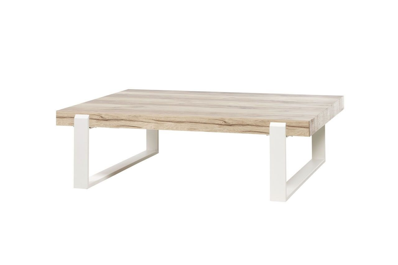 tables basses - table basse style scandinave bois naturel et pieds