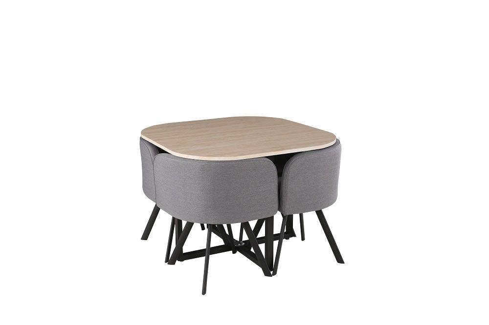 Ensembles Table Carrée Scandinave Tables 4 Et Chaises W9E2IeDHY