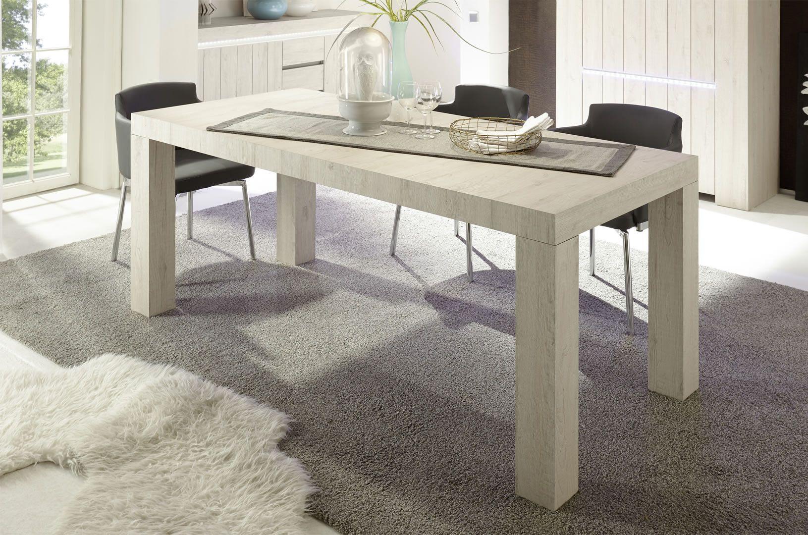 Tables de cuisine - Table salle à manger ou cuisine rectangulaire ...