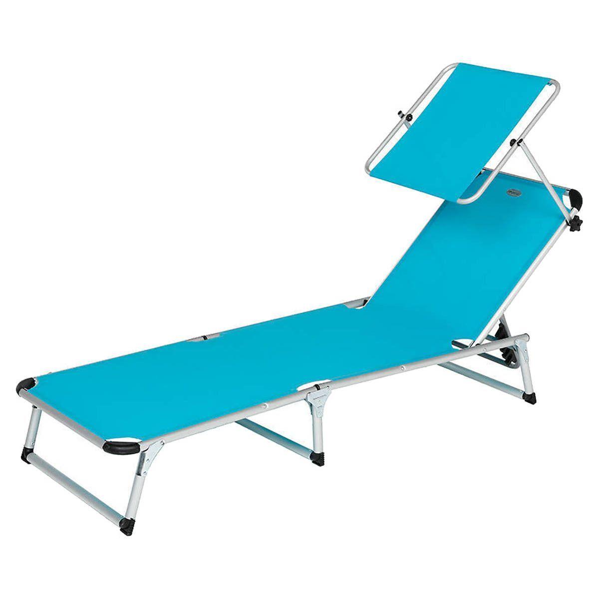 transat pliable avec pare soleil lagos lagon. Black Bedroom Furniture Sets. Home Design Ideas