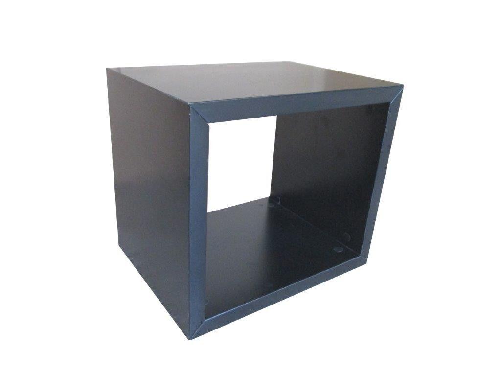 chevets design - table de chevet cube rectangulaire yakima noir