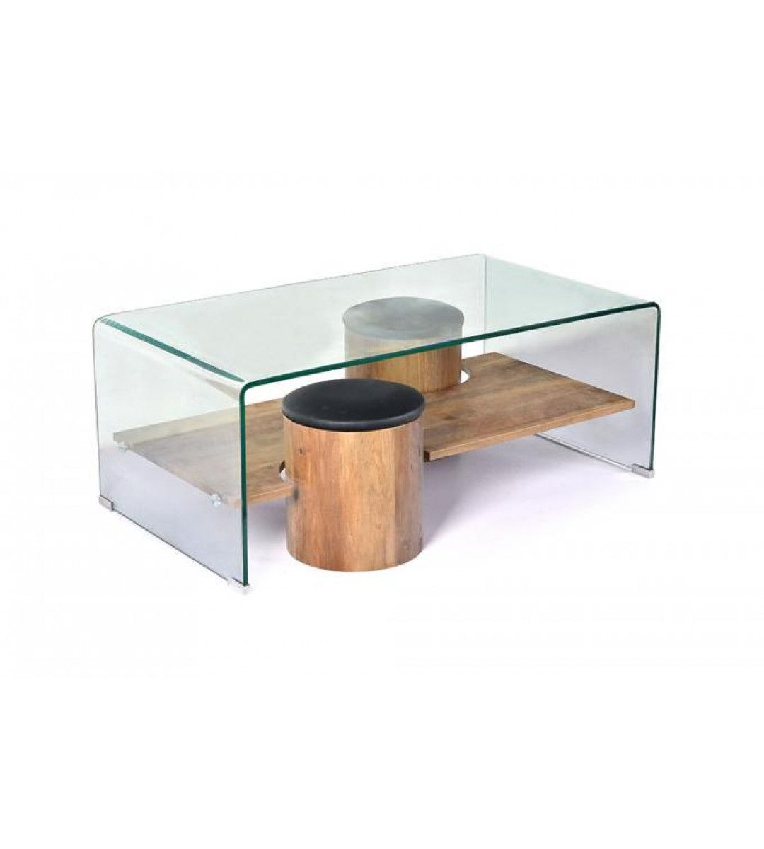 Table Basse En Verre Matière Verre