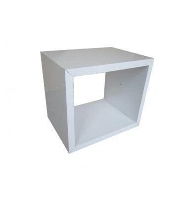 chevets design table de chevet cube rectangulaire yakima noir trocity