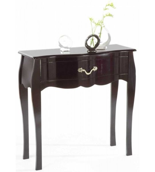 console noire baroque beautiful console baroque tiroir noir manguier xxcm odysse with console. Black Bedroom Furniture Sets. Home Design Ideas