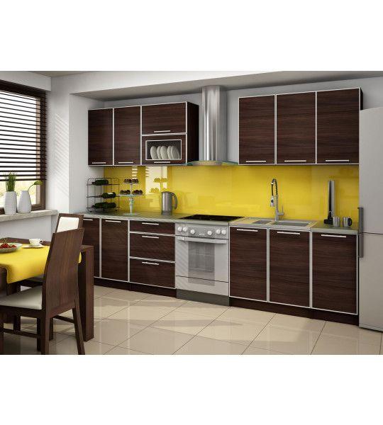cuisine wenge perfect cuisine wenge with cuisine wenge simple simmob table de cuisine meuble. Black Bedroom Furniture Sets. Home Design Ideas