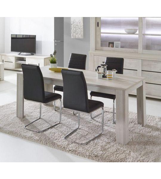 tables rectangulaires tables de salle manger pas cher trocity. Black Bedroom Furniture Sets. Home Design Ideas