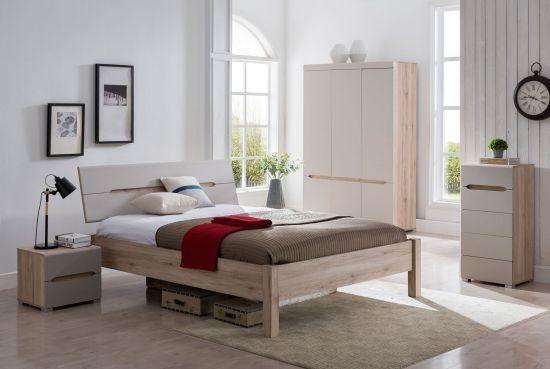 Chambre à coucher complète style contemporain Charlotte