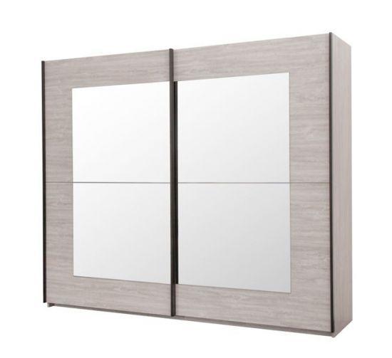 Armoire Portes Coulissantes Avec Miroirs Integres Magot 200 Cm