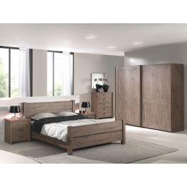 Chambre à coucher complète adulte portes coulissantes Haly ...