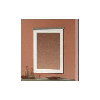 Miroir de chambre à coucher truffe et blanc Yvette - Trocity